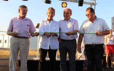 Inauguration du Cabinet d'Aunis à Sainte Gemme la Plaine
